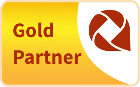 axaio software - Gold Partner - Logo