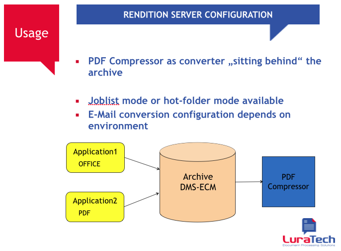 Foxit PDF Compressor Enterprise and Rendition Server - Picture