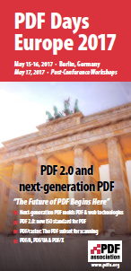 PDF Association PDF Days Europe 2017 - Thumbnail - Picture